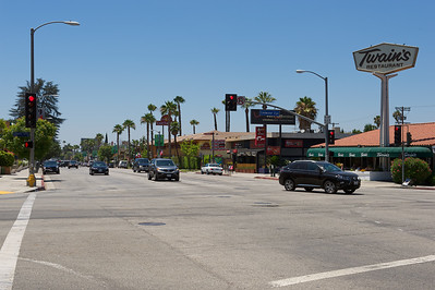Coldwater Canyon and Ventura Blvd, Studio City, Los Angeles.