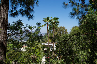 Hollywood Hills, Los Angeles. Modernist Architecture