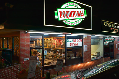 Poquito Mas. The original Baja Taco Stand.