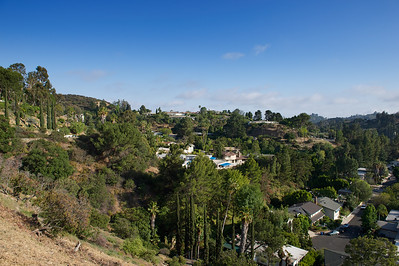 Hollywood Hills, Los Angeles.