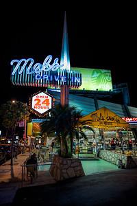Mel's Drive In, Sunset Blvd, Hollywood, Los Angeles