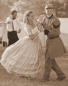 Sepia Prints - February 2010  Photo was made during a Civil War reenactment in Hillsdale, MI.