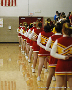 Patterns, March 2009 - This photo was taken at a Reading Boys Basketball game during the National Anthem.