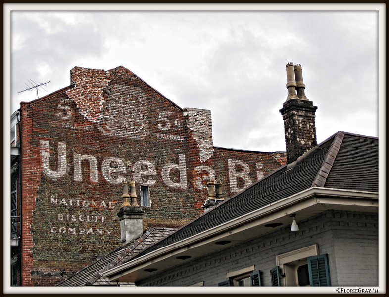 Ghost Sign; NOLA