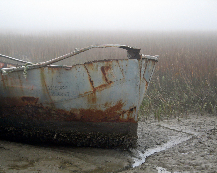 Folly Marsh Fog at Low Tide