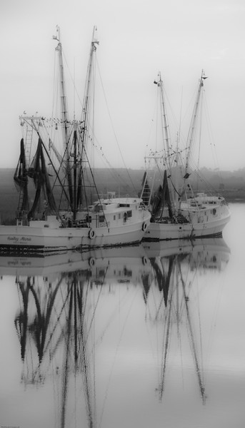 Crosby Shrimpers BW I