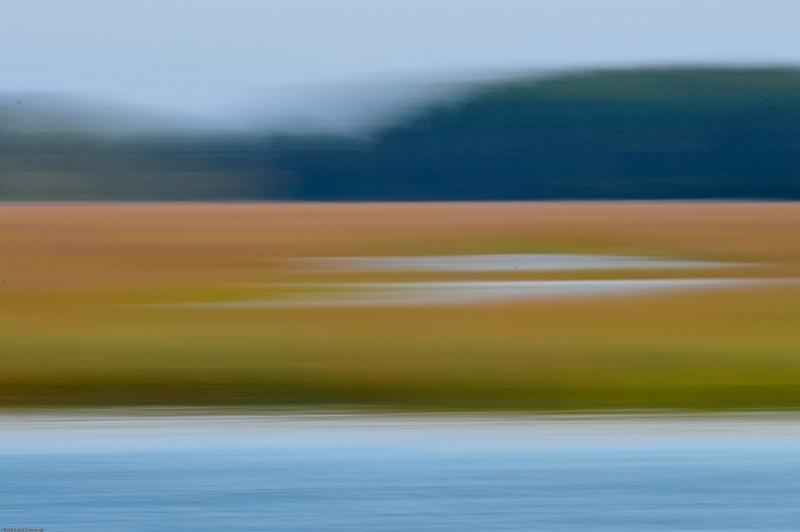 Beresford Creek marsh blur V