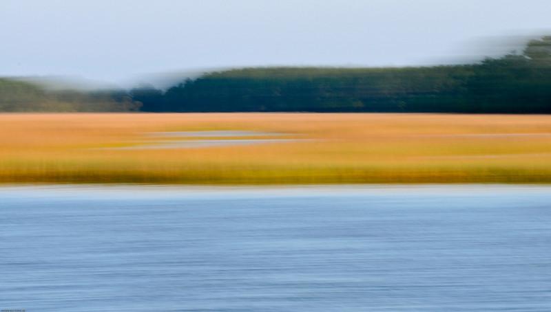 Beresford Creek marsh blur II