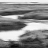 Isle of Palms connector marsh at sunset BW