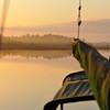 Beresford Creek Sunrise with Lady Joy