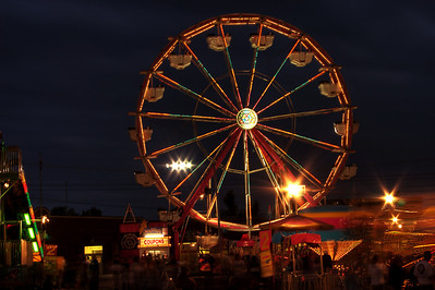 state fair at night 2008