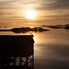 Krøttøy in the midnight sun