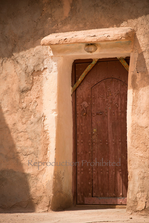 The Door Along the road to Marrakech Morroco April 2013