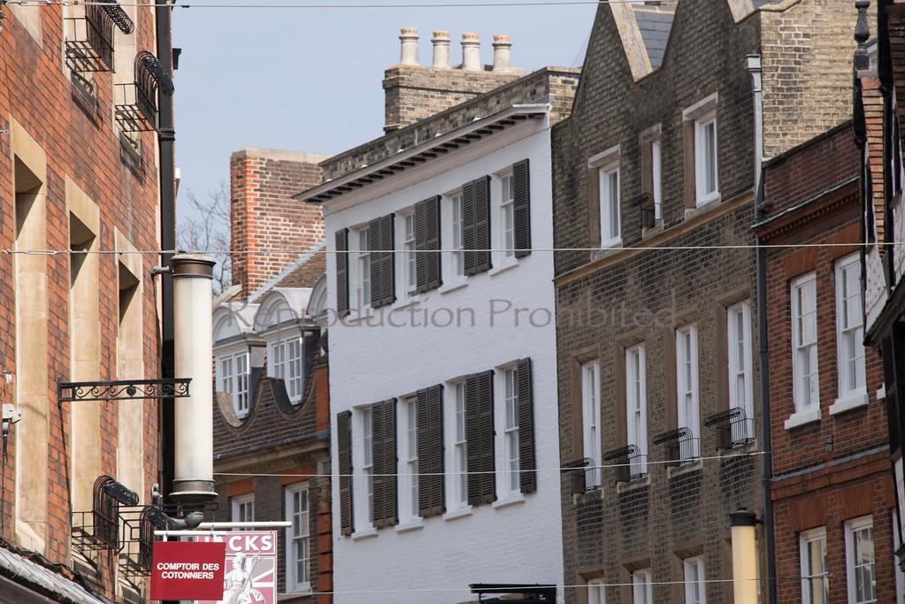The Town Cambridge England April 2013