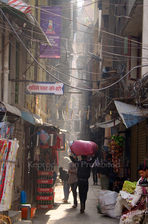 Going to Market Kathmandu, Nepal