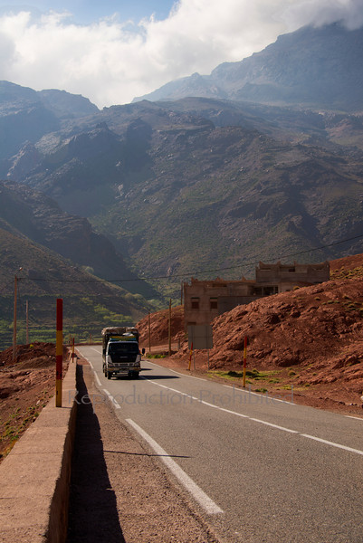 Atlas Rolling Atlas Mountains Morocco April 2013