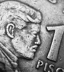 P 1.00 coin