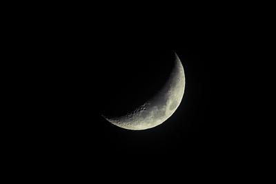 Crescent Moon - December 23rd, 2017