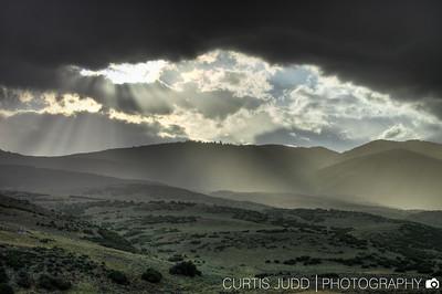 Rainy Lewis Peak Sunset1
