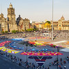 EL ZOCALO, CATHEDRAL & PRESIDENTIAL PALACE