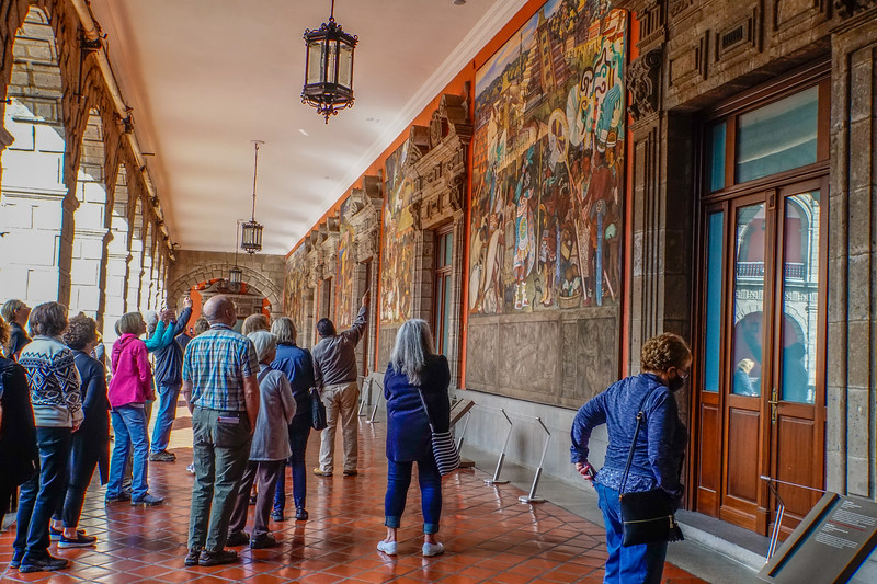 DIEGO RIVERA'S MURALS - PRESIDENTIAL PALACE