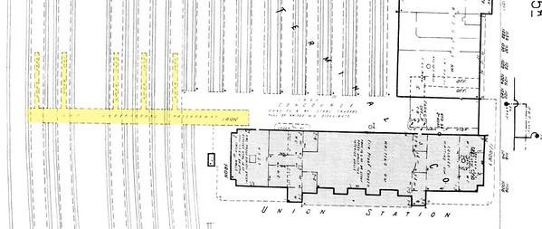 Jacksonville Terminal Subway Sanborn Map.