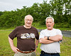 Ramon (THE man at Harford Glen Environmental Education Center) and Doug