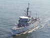 USS Fortify (MSO-446)<br /> <br /> Date: April 16 1984<br /> Location: Hampton Roads VA<br /> Source: Nobe Smith - Atlantic Fleet Sales