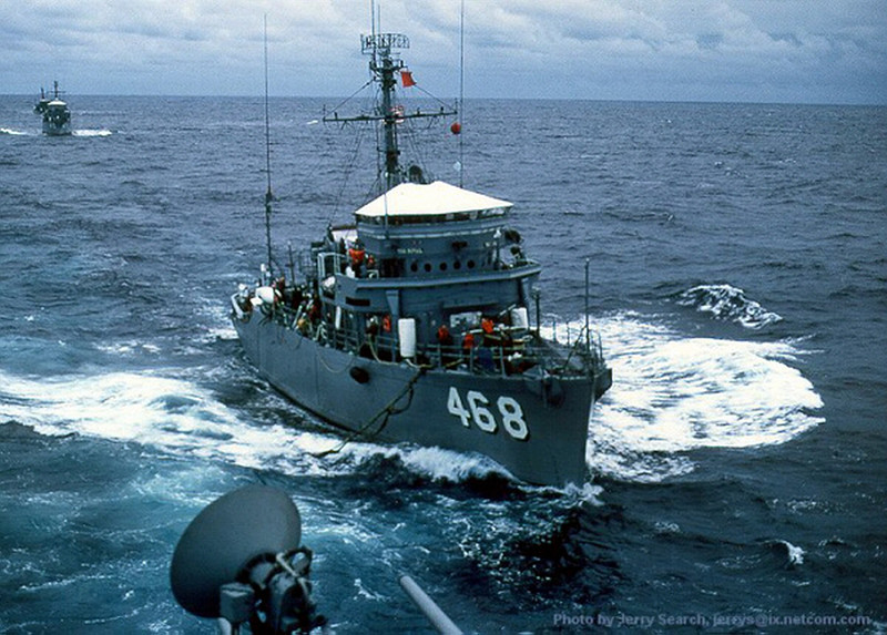 USS Rival (MSO-468)<br /> <br /> Date: Unknown<br /> Location: Unknown<br /> Source: Nobe Smith - Atlantic Fleet Sales