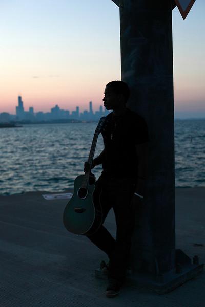 GUITARIST GIDEON REDIC<br /> <br /> Photo by Michelle Wodzinski