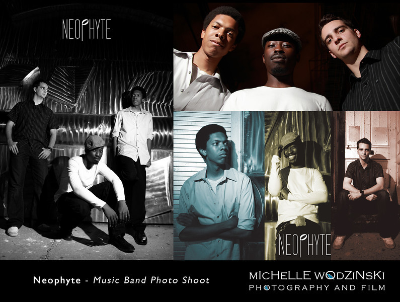 NEOPHYTE - Music Band Photo Shoot