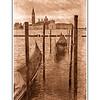 Venice Sketch- Gondola's