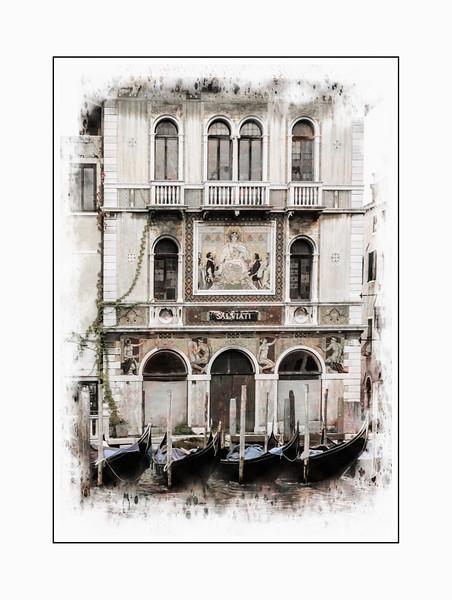 Venice Sketch - Pallazzo