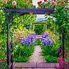 Cher's Garden Arbor & Path
