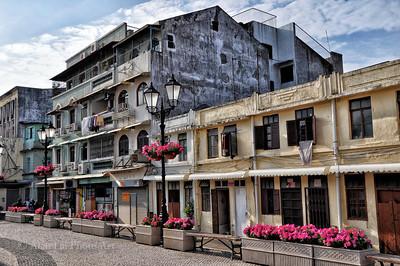 Macau - old neighbourhood