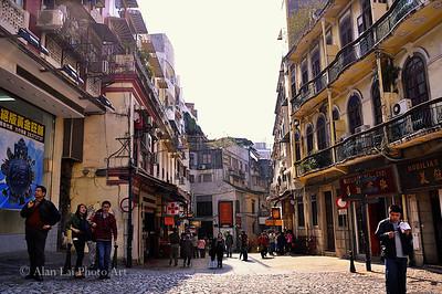 Old neighbourhood, Macau