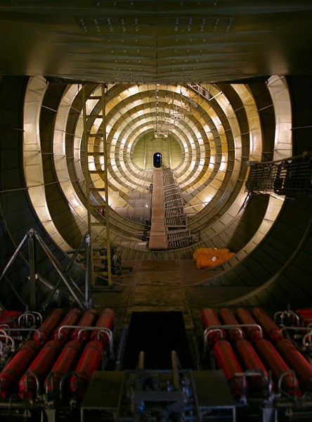 Bowels of the Spruce Goose