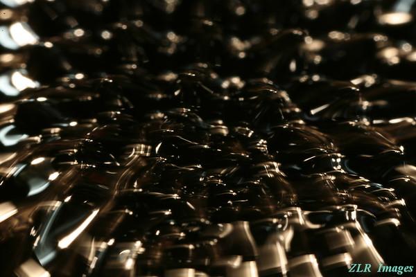 Ferromagnetic fluid, magnet #4