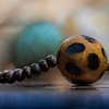 Small wooden beads