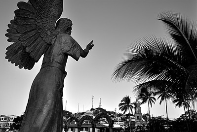 "Puerto Vallarta Photography, Magical Seconds Series by  International Award Winning Photographer Andres Barria ""El Angel de la Guarda"""