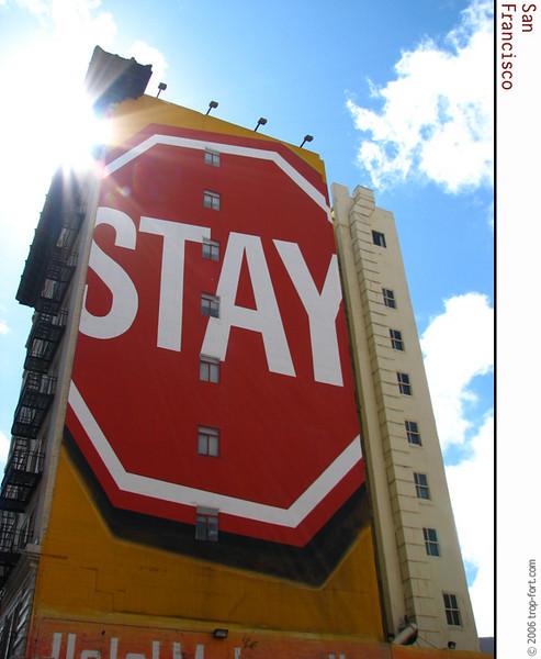 Stay!<br /> <br /> Ref. 29