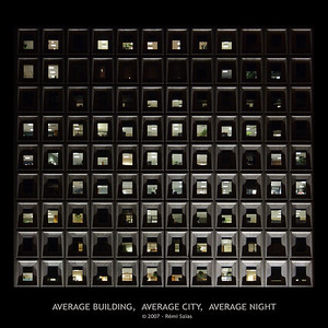 Average Building, Average City, Average Night  Ref. 6