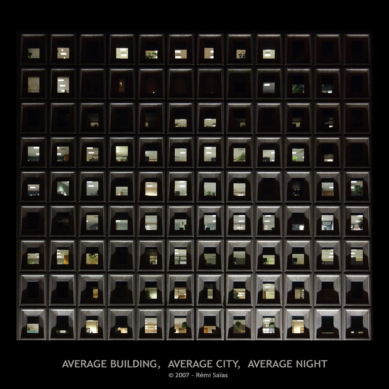Average Building, Average City, Average Night<br /> <br /> Ref. 6
