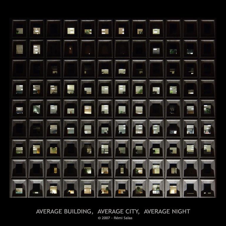 Average Building, Average City, Average Night<br /> <br /> Ref. 6