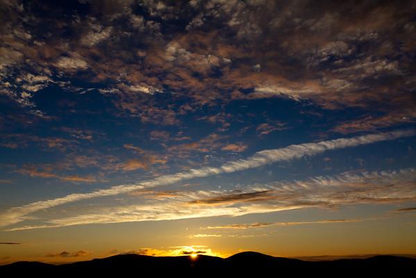 Sunset from Mount Battie