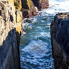 "Schoodic Point's ""Thunder Hole"""