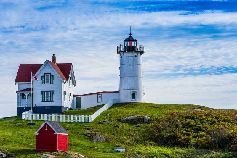"The ""Nubble"" Lighthouse"