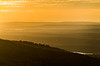 Sunset & Layered Horizon from Cadillac Mountain