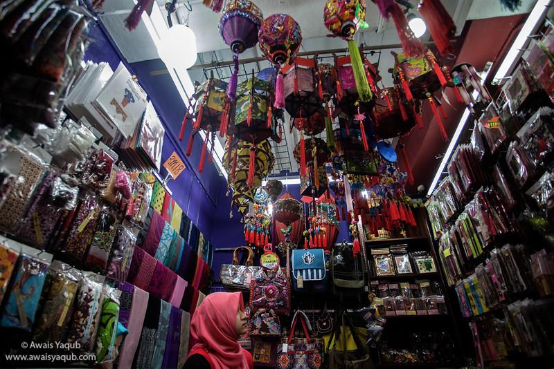 Shop in central Market, Kuala Lumpur Malaysia
