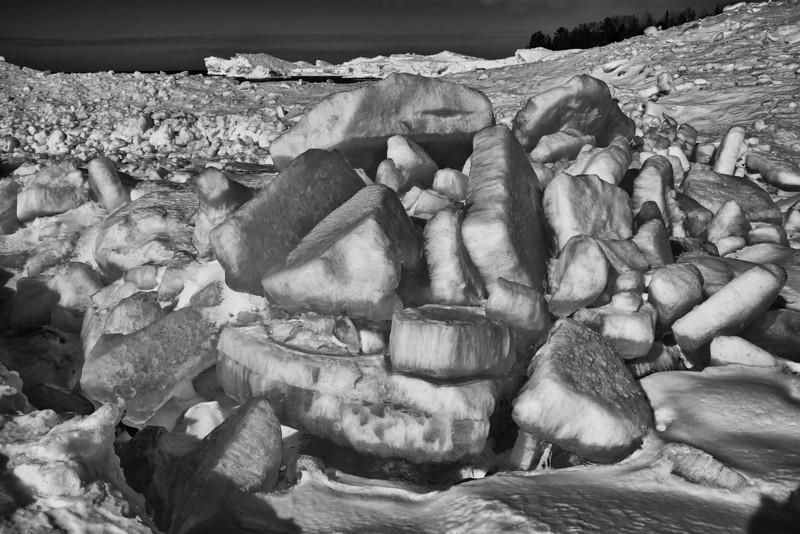 Works of Ice, Lake Superior